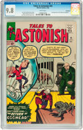 Silver Age (1956-1969):Superhero, Tales to Astonish #45 Northland pedigree (Marvel, 1963) CGC NM/MT9.8 White pages....