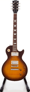 Musical Instruments:Electric Guitars, 1989 Gibson Les Paul Tobacco Sunburst Solid Body Electric Guitar,Serial # 82239554. ...