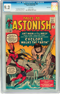 Tales to Astonish #46 Pacific Coast pedigree (Marvel, 1963) CGC NM- 9.2 White pages