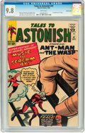 Silver Age (1956-1969):Superhero, Tales to Astonish #47 Pacific Coast pedigree (Marvel, 1963) CGCNM/MT 9.8 White pages....