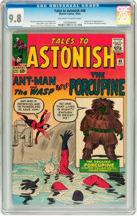 Tales to Astonish #48 (Marvel, 1963) CGC NM/MT 9.8 Off-white to white pages