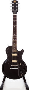 Musical Instruments:Electric Guitars, 1980 Gibson Sonex-180 Standard Black solid Body Electric Guitar,Serial # 83390645. ...