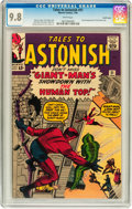 Silver Age (1956-1969):Superhero, Tales to Astonish #51 Pacific Coast pedigree (Marvel, 1964) CGCNM/MT 9.8 White pages....