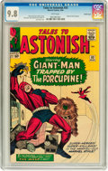 Silver Age (1956-1969):Superhero, Tales to Astonish #53 Pacific Coast pedigree (Marvel, 1964) CGCNM/MT 9.8 White pages....