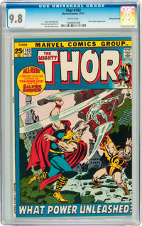 Thor #193 Rocky Mountain pedigree (Marvel, 1971) CGC NM/MT 9.8 White pages