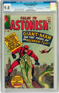 Silver Age (1956-1969):Superhero, Tales to Astonish #55 Pacific Coast pedigree (Marvel, 1964) CGC NM/MT 9.8 White pages....