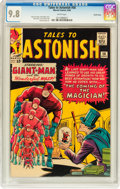 Silver Age (1956-1969):Superhero, Tales to Astonish #56 Pacific Coast pedigree (Marvel, 1964) CGC NM/MT 9.8 White pages....