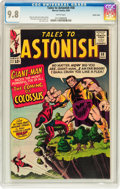 Silver Age (1956-1969):Superhero, Tales to Astonish #58 Pacific Coast pedigree (Marvel, 1964) CGCNM/MT 9.8 White pages....