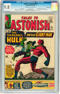 Silver Age (1956-1969):Superhero, Tales to Astonish #59 Pacific Coast pedigree (Marvel, 1964) CGC NM/MT 9.8 Off-white to white pages....