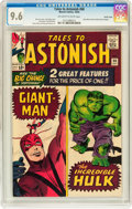 Silver Age (1956-1969):Superhero, Tales to Astonish #60 Pacific Coast pedigree (Marvel, 1964) CGC NM+9.6 Off-white to white pages....