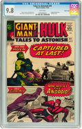 Silver Age (1956-1969):Superhero, Tales to Astonish #61 Pacific Coast pedigree (Marvel, 1964) CGCNM/MT 9.8 White pages....