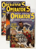 Pulps:Detective, Operator #5 Group (Popular, 1935).... (Total: 3 Comic Books)