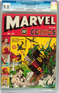 Golden Age (1938-1955):Superhero, Marvel Mystery Comics #10 Chicago pedigree (Timely, 1940) CGC VF/NM 9.0 Off-white to white pages....