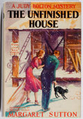 Books:Children's Books, Margaret Sutton. A Judy Bolton Mystery: The UnfinishedHouse. Grosset & Dunlap, 1938. Later impression. Fronthinge ...