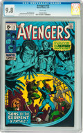 Bronze Age (1970-1979):Superhero, The Avengers #73 (Marvel, 1970) CGC NM/MT 9.8 White pages....