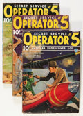 Pulps:Detective, Operator #5 January-April '36 Group (Popular, 1936).... (Total: 4Items)