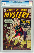 Silver Age (1956-1969):Superhero, Journey Into Mystery #84 (Marvel, 1962) CGC NM 9.4 Off-white towhite pages....