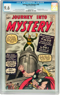 Silver Age (1956-1969):Superhero, Journey Into Mystery #85 (Marvel, 1962) CGC NM+ 9.6 Off-white towhite pages....