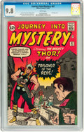 Silver Age (1956-1969):Superhero, Journey Into Mystery #87 (Marvel, 1962) CGC NM/MT 9.8 Whitepages....