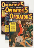 Pulps:Detective, Operator #5 January-November '39 Group (Popular, 1939) Condition: Average VG-.... (Total: 7 Items)