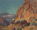 Paintings, EDGAR ALWIN PAYNE (American, 1883-1947). Over the Hump. Oil on masonite. 28 x 34 inches (71.1 x 86.4 cm). Signed lower r...