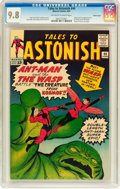 Silver Age (1956-1969):Superhero, Tales to Astonish #44 Pacific Coast pedigree (Marvel, 1963) CGC NM/MT 9.8 Off-white to white pages....
