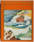 Books:Children's Books, Daniel Defoe. Robinson Crusoe. Sears, 1926. Later edition.Color frontis and illustrated pages. Shaken. Very good....