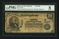 National Bank Notes:Missouri, Jefferson City, MO - $20 1902 Plain Back Fr. 653 The First NB Ch. #(M)1809. ...