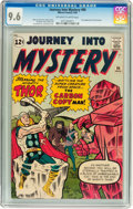 Silver Age (1956-1969):Superhero, Journey Into Mystery #90 (Marvel, 1963) CGC NM+ 9.6 Off-white to white pages....