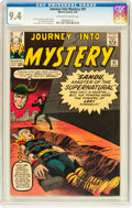 Silver Age (1956-1969):Superhero, Journey Into Mystery #91 (Marvel, 1963) CGC NM 9.4 Off-white towhite pages....