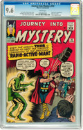 Silver Age (1956-1969):Superhero, Journey Into Mystery #93 (Marvel, 1963) CGC NM+ 9.6 White pages....