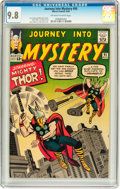 Silver Age (1956-1969):Superhero, Journey Into Mystery #95 (Marvel, 1963) CGC NM/MT 9.8 Off-white towhite pages....