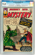 Silver Age (1956-1969):Superhero, Journey Into Mystery #96 (Marvel, 1963) CGC NM/MT 9.8 Off-whitepages....