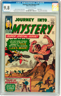 Silver Age (1956-1969):Superhero, Journey Into Mystery #97 (Marvel, 1963) CGC NM/MT 9.8 Off-white towhite pages....