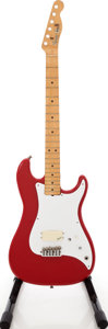 Musical Instruments:Electric Guitars, 1981 Fender Bullet Red Solid Body Electric Guitar Project, Serial #E112336.. ...