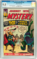 Silver Age (1956-1969):Superhero, Journey Into Mystery #98 (Marvel, 1963) CGC NM/MT 9.8 Off-white towhite pages....