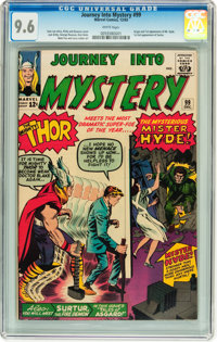 Journey Into Mystery #99 (Marvel, 1963) CGC NM+ 9.6 White pages
