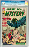 Silver Age (1956-1969):Science Fiction, Journey Into Mystery #101 (Marvel, 1964) CGC NM/MT 9.8 Off-white to white pages....