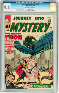 Journey Into Mystery #101 (Marvel, 1964) CGC NM/MT 9.8 Off-white to white pages