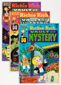Bronze Age (1970-1979):Cartoon Character, Richie Rich Vaults of Mystery File Copy Short Box Group (Harvey,1975-82) Condition: Average NM-....