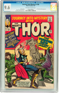 Silver Age (1956-1969):Superhero, Journey Into Mystery #106 (Marvel, 1964) CGC NM+ 9.6 Off-white towhite pages....