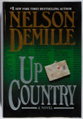 Books:Mystery & Detective Fiction, Nelson DeMille. SIGNED. Up Country. Warner, 2002. Firstedition, first printing. Signed by the author. An new....