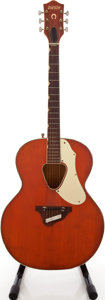 Musical Instruments:Acoustic Guitars, 1968 Gretsch Rancher Orange Acoustic Guitar, Serial # 58133....