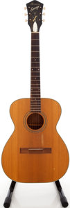 Musical Instruments:Acoustic Guitars, 1960s Harmony Sovereign Natural Acoustic Guitar....