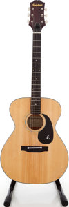 Musical Instruments:Acoustic Guitars, 1970s Epiphone FT-120 Natural Acoustic Guitar, Serial # 966505....