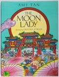 Books:Children's Books, Amy Tan. SIGNED. The Moon Lady. Macmillan, 1992. Firstedition, first printing. Signed by Tan and the illustrator....