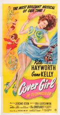 "Movie Posters:Musical, Cover Girl (Columbia, 1944). Three Sheet (41.5"" X 80.5"").. ..."