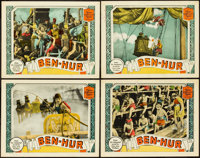 """Ben-Hur (MGM, 1925). Lobby Cards (4) (11"""" X 14""""). ... (Total: 4 Items)"""