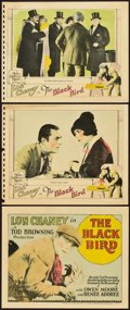 "Movie Posters:Crime, The Black Bird (MGM, 1926). Title Lobby Card and Lobby Cards (2)(11"" X 14"").. ... (Total: 3 Items)"
