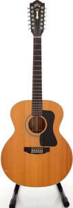 Musical Instruments:Acoustic Guitars, 1970s Guild F-212 XL Natural 12-String Acoustic Guitar, Serial #AJ321757....